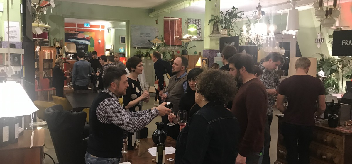 Salon Du Vin - 2019 - Weindegustation